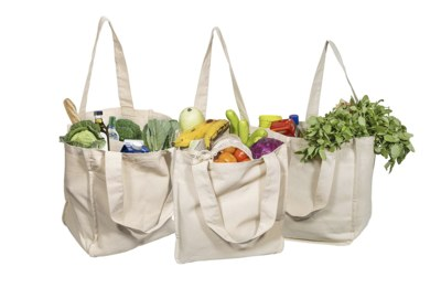 Free Reusable Grocery Tote Bag from Ithaca Humus
