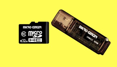 Free Micro SD Card and Flash Drive