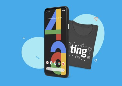 Win a Google Pixel 4a from Ting Mobile