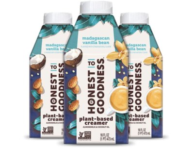 Free Madagascan Vanilla Bean Plant-Based Creamer from Honest to Goodness