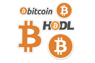 Free Bitcoin Stickers from Sticker Mule