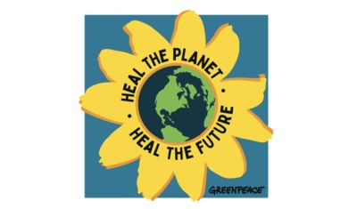 Free Stickers from Greenpeace