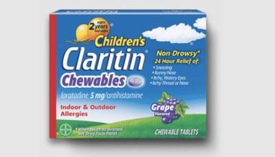 Walmart - Claritin Children's Chewables