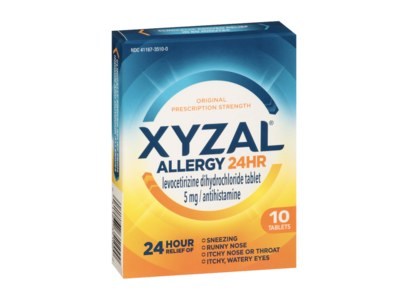 Free Xyzal Allergy Relief