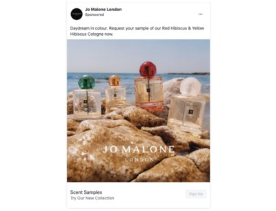 Free Perfume Sample from Jo Malone