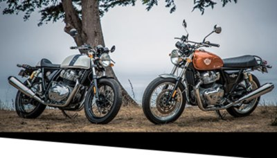Sweepstakes - Win a Royal Enfield INT 650 or Continental GT Motorcycle