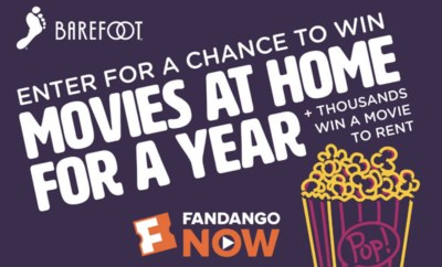 Sweepstakes - Win Free Movies for a Year From Fandango