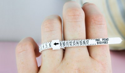 Free Ring Sizer from Brilliant Earth