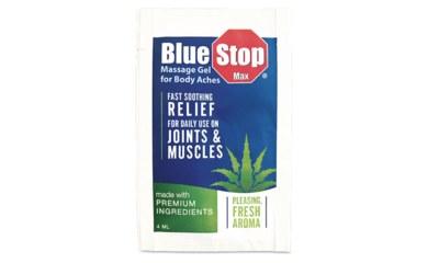 SamsClub - Free Sample BlueStop Massage Gel