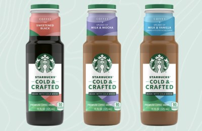 New Starbucks Cold & Crafted Iced Coffees
