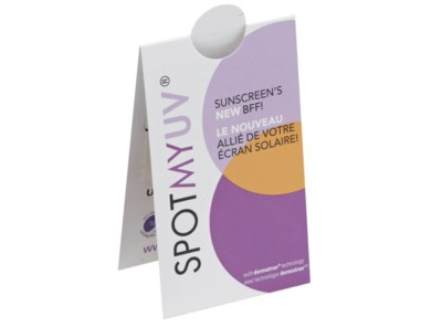 Free SPOTMYUV Sunscreen Sticker