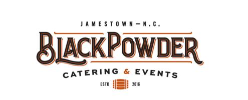 Black powder logo email template