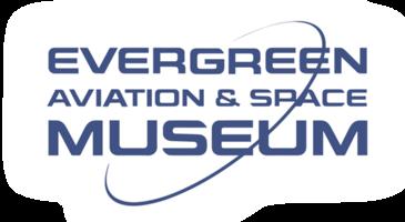 Evergreen logo white line clear bkgrd burst