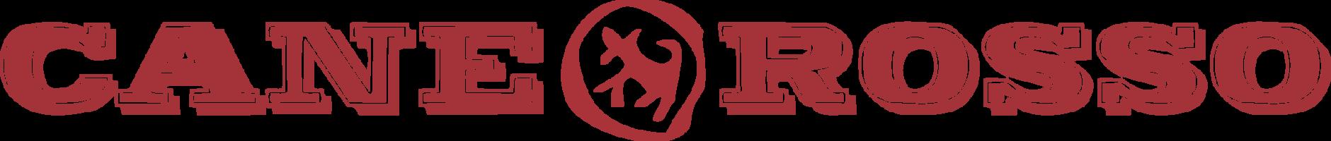 Cane rosso menu logo