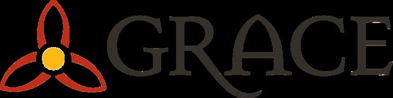 Grace logo dark letters transp back