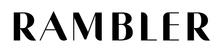 Rambler logo wordmark bw