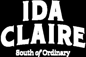 Idaclaire logo 2b white rgb lg