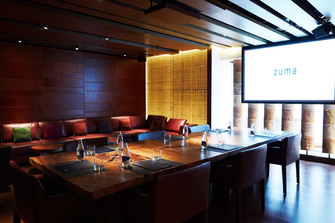 Zuma new york city ny private dining rehearsal dinners for Best private dining rooms midtown