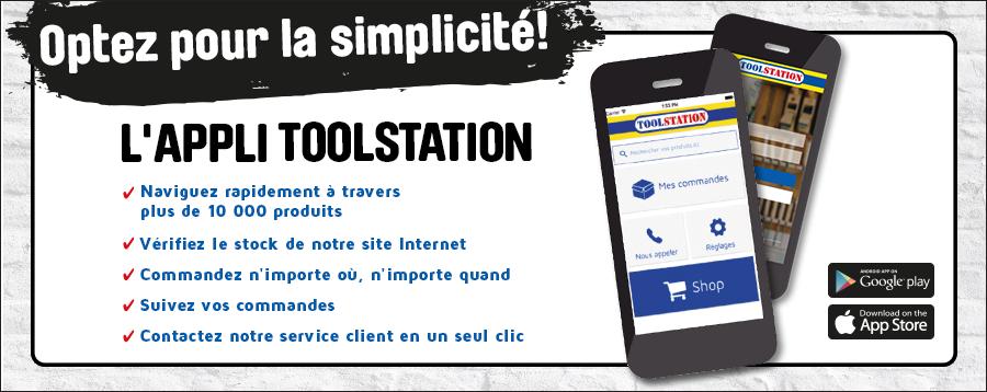 Toolstation app FR