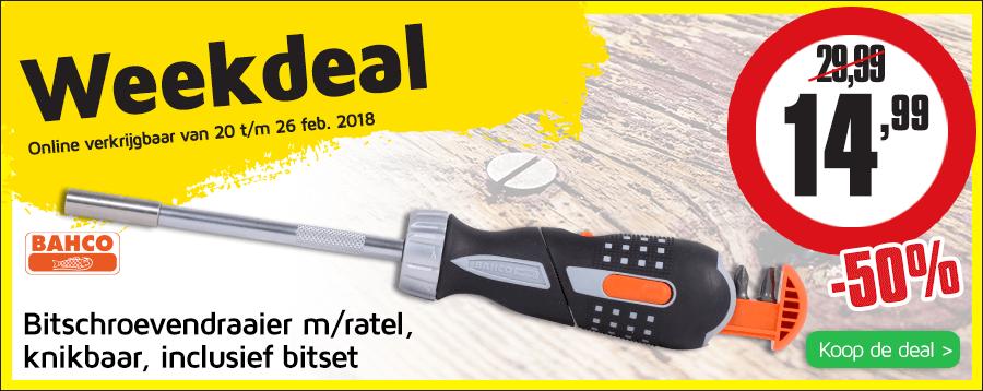 Weekdeal 8 NL