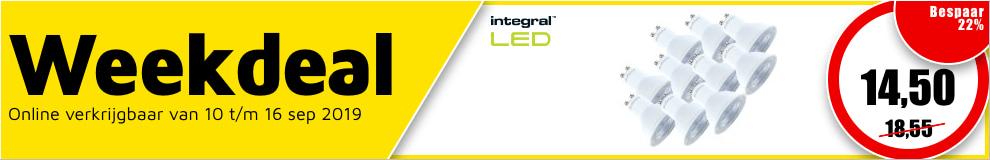 Weekdeal37 - Integral LED lamp #1