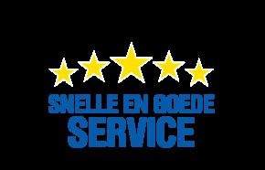 Snelle en goede service