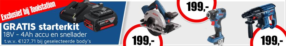 Bosch starterkit #1