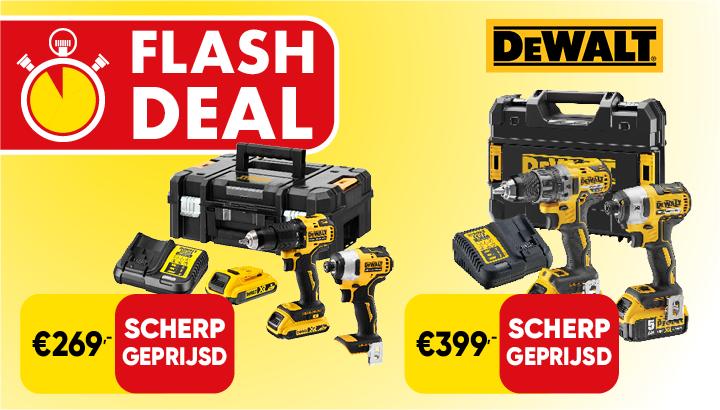 Flash Deal DeWALT combopacks