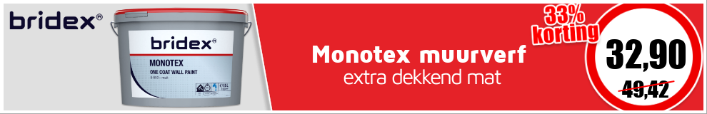 Bridex Monotex muurverf