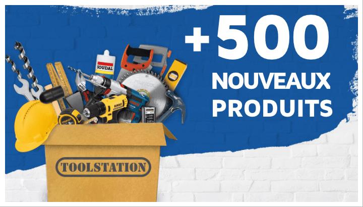 500 nouveaux produits