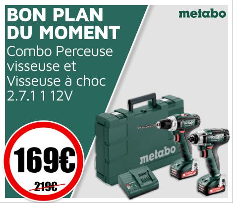 Bon_plan_du_moment combo perceuse Metabo