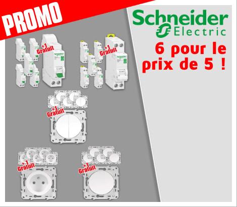 Schneider Promo 5 + 1 For Free