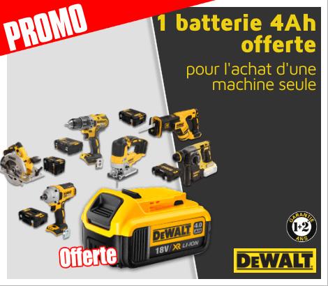 Free Battery DeWalt