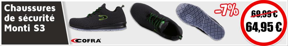 Chaussure Secu Monti S3