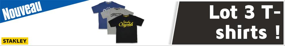 Lot 3 T-shirts