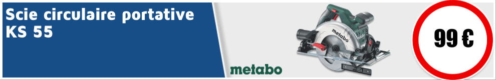 scie circulaire Metabo