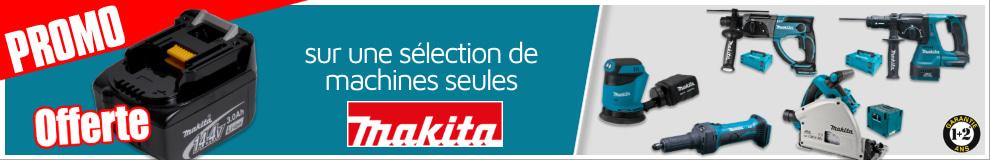 Batterie offerte Makita