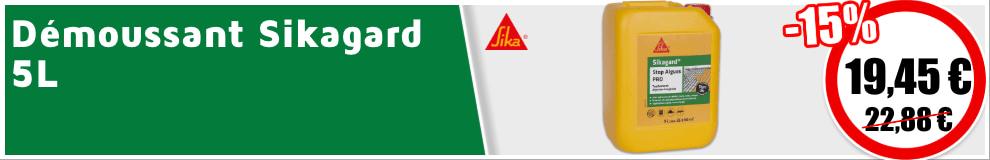 Démoussant Sikagard Stop Algues Pro 5L -15%
