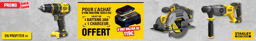 Stanley Fatmax Free Batterie