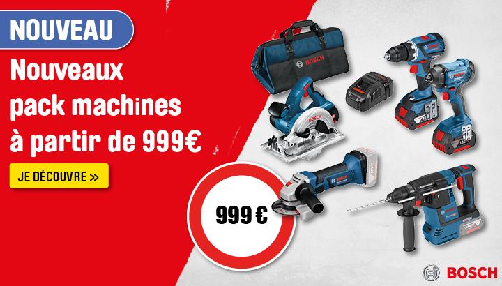 Pack 5 machines Bosch