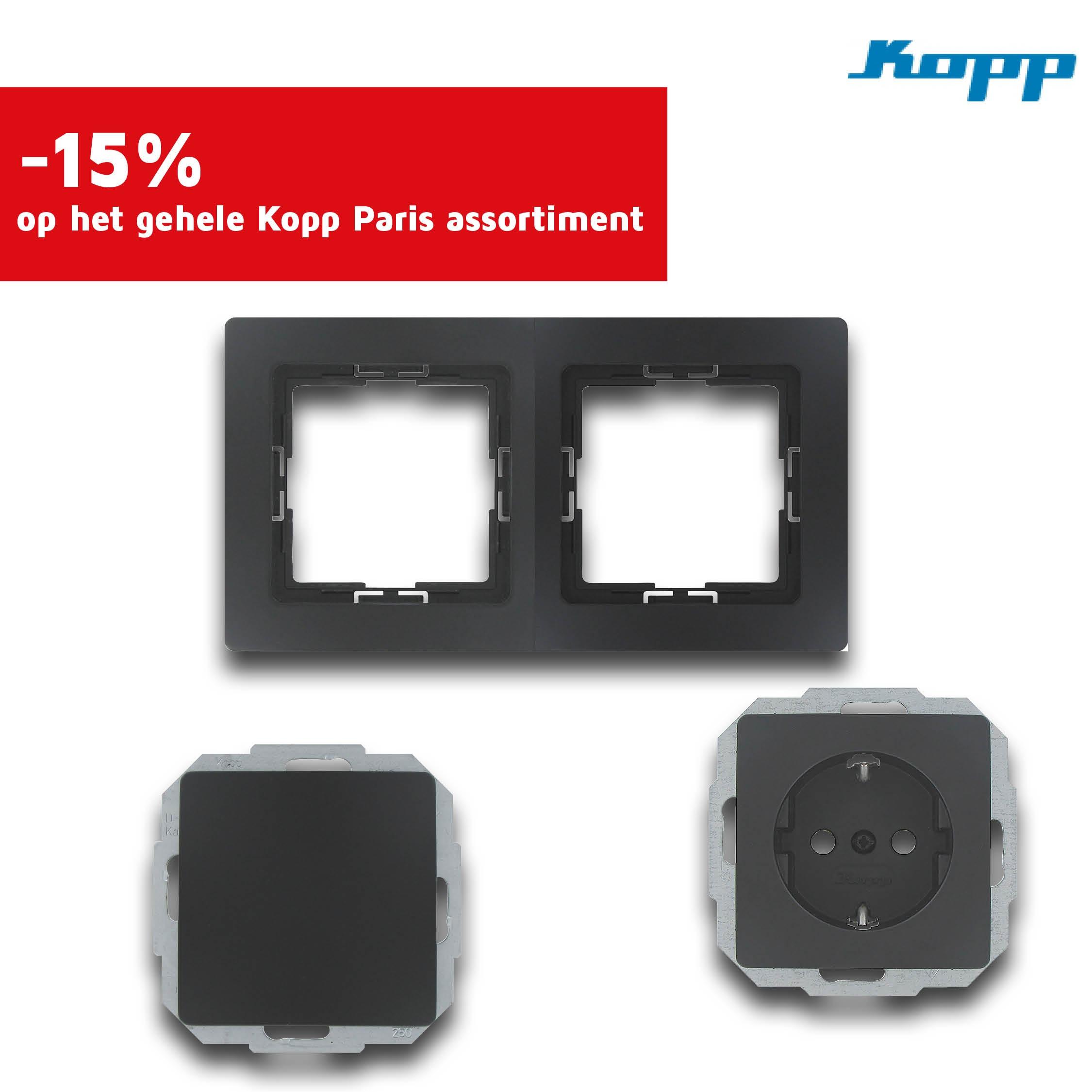 Cat72 P3 - Kopp Paris deal Product nr.17059 17033 17043