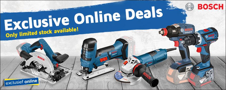 Exclusive online deals