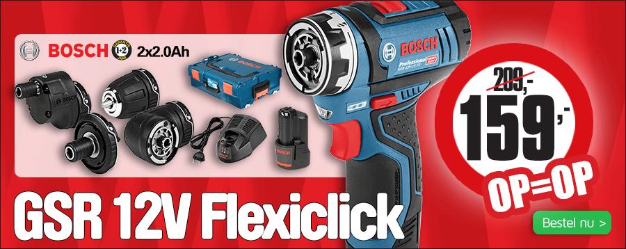 Bosch Flexiclick - deal NL