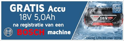 Bosch accu promo