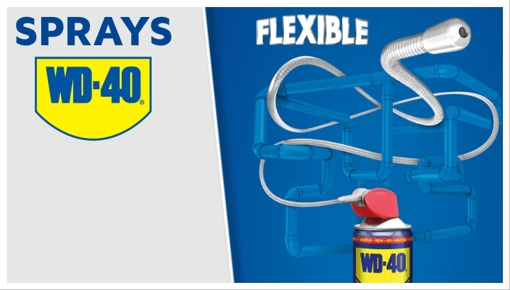 WD40 flexible