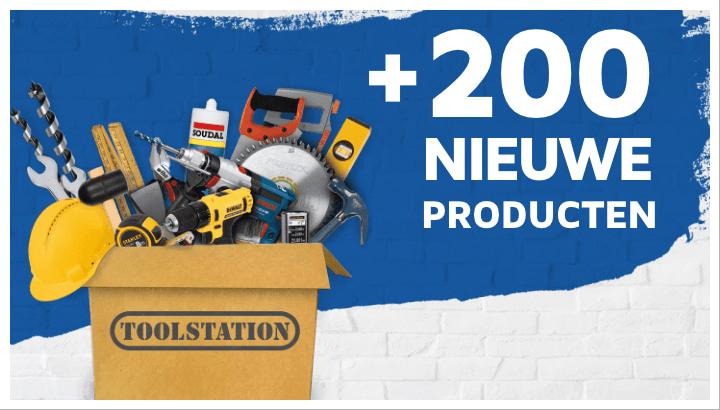200+ nieuwe producten #1