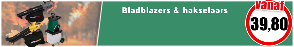 Hakselaars en bladblazers #1