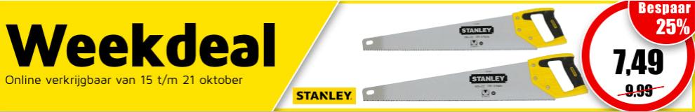 Weekdeal42 - Stanley handzagen #1