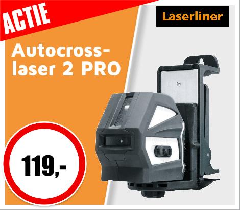 ACTIE Laserliner autocross-laser