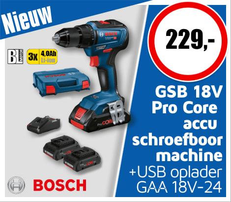 Nieuw Bosch accu schroefboormachine